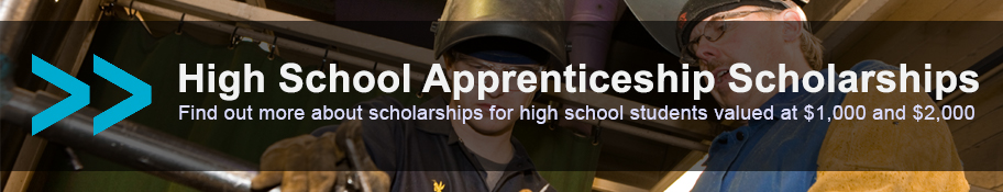 High School Apprenticeship Scholarships