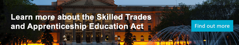Skilled Trades and Apprenticeship Education Act